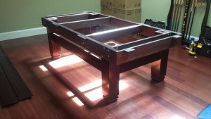 Correctly performing pool table installations, Binghamton New York